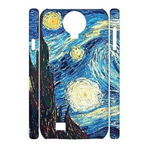 ANCASE Cell phone Cases Van Gogh Hard 3D Case For Samsung Galaxy S4 i9500
