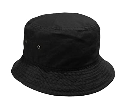 8c45f2c3e9218 Newhattan Short Brim Visor Cotton Bucket Sun Hat at Amazon Women's ...