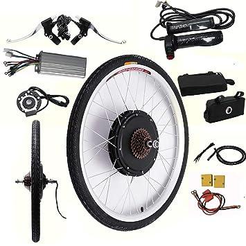 OUKANING 26 48V Rear Wheel Electric Bicycle Motor Conversion Kit E-bike Cycling Hub 1000W