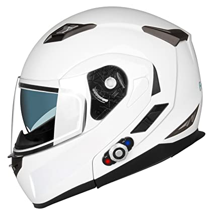 Amazon Motorcycle Bluetooth Helmetsfreedconn Flip Up Dual