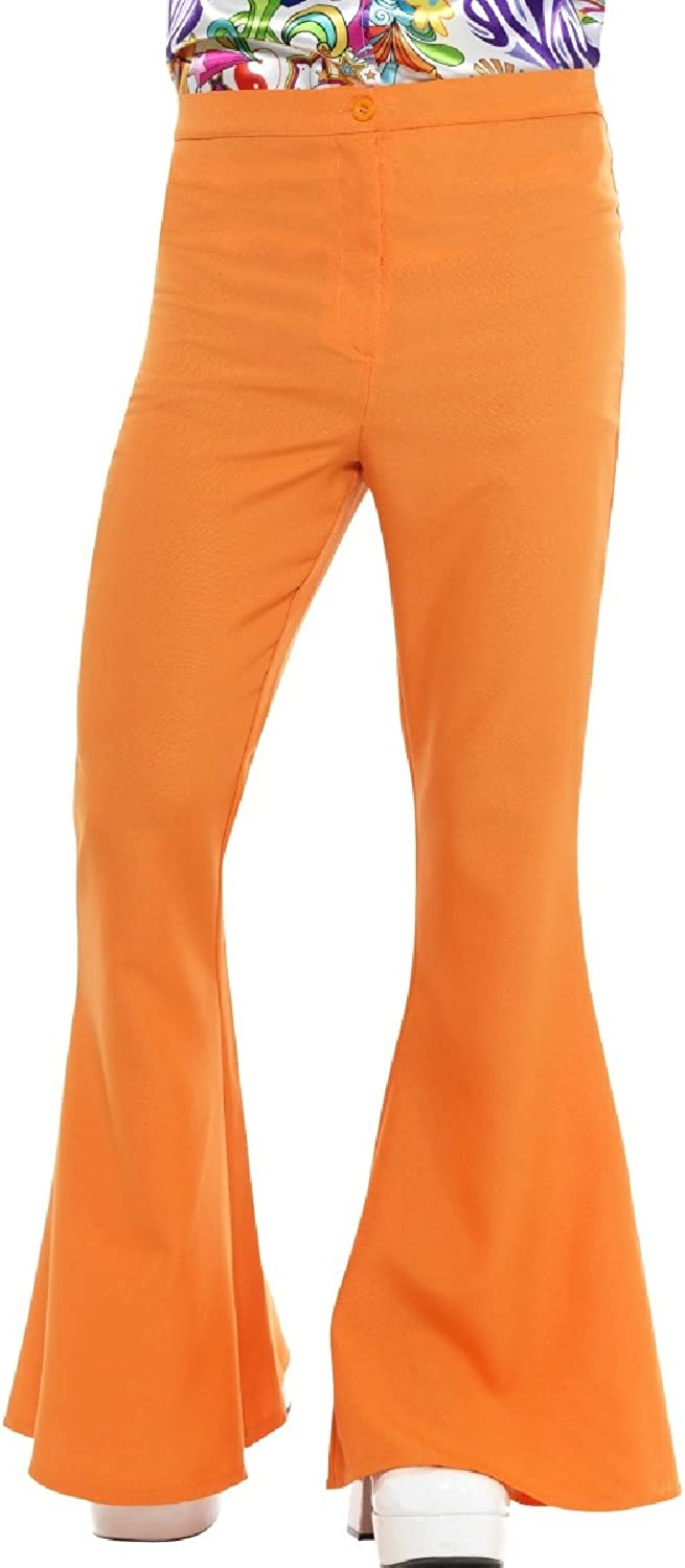 MENS 1970/'S DISCO TROUSERS PANTS FANCY DRESS COSTUME FLARES 70/'S 1960/'S 60/'S