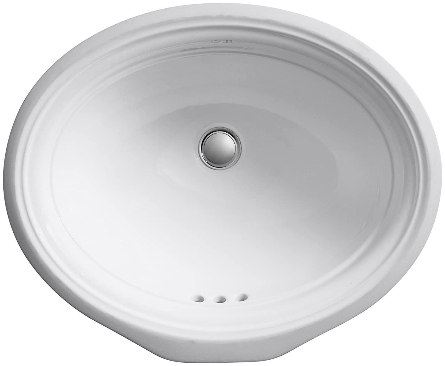 KOHLER K-2336-0 Devonshire Undercounter Bathroom Sink, White