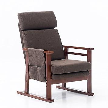 Sillas De Terraza Lunch Break Chair Madera Maciza Nap Balcony Ocio ...
