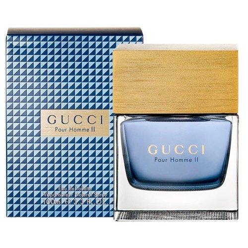 (Guccì Pour Homme II by Guccì I Eau De Toilette Spray for men. EDT 3.3 fl oz / 100 ml)