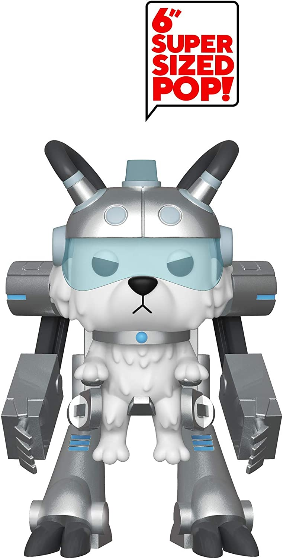 Funko- Pop Figura de Vinilo: Animación: Rick & Morty S6-Snowball in Mech Suit Coleccionable, Multicolor, Estándar (40249)