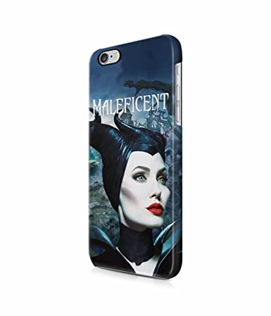Maleficent Face Creepy Mysterious Woods Plastic Snap On Case