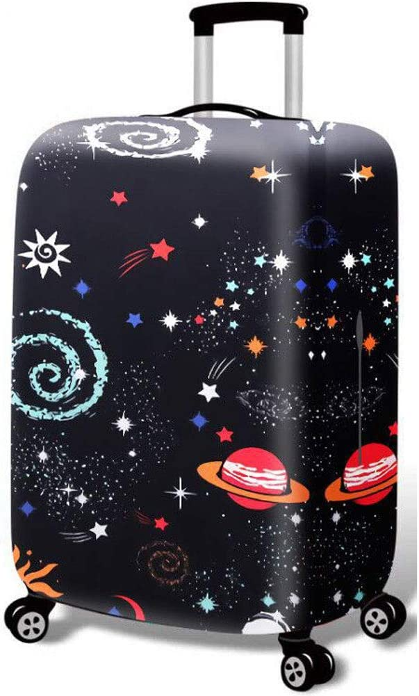 Hbwz Luggage Cover,Luggage Protector Elastic Anti-Dust Anti-Stain Washable Design,D,S