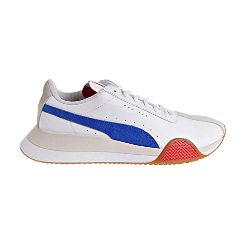 2d8151f91dcc4 PUMA Turin 0 Mens White Leather Low Top Lace Up Sneakers Shoes