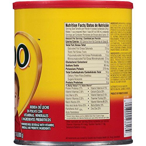 NESTLE NIDO Kinder 1+ Powdered Milk Beverage 1.76 lb. Canister by Nido (Image #3)