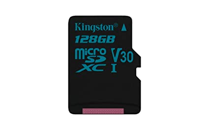 Kingston Canvas Go! SDCG2/128GBSP - Tarjeta MicroSD de 128 GB, Adaptador SD no Incluido