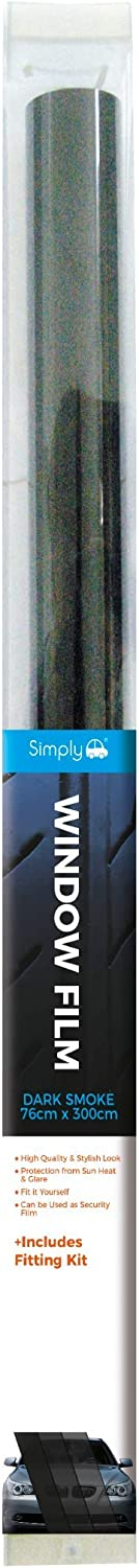 Simply WF09 Film Dark Smoke Colour Mail order Vehicle Cover Limited time for free shipping 76x300CM Car R