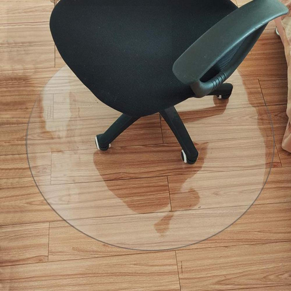 Office Chair Mat PVC Floor Carpet Protector 1.6mm / 2mm Thickness Highly Transparent,2mmThickness-120cm