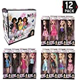 Liberty Imports Deluxe Case of 12 Fashion Beauty Princess Dolls | Different Dresses and Outfits in Individual Display Boxes | Girls Toys Bulk Party Favors Supplies (10-Inches)