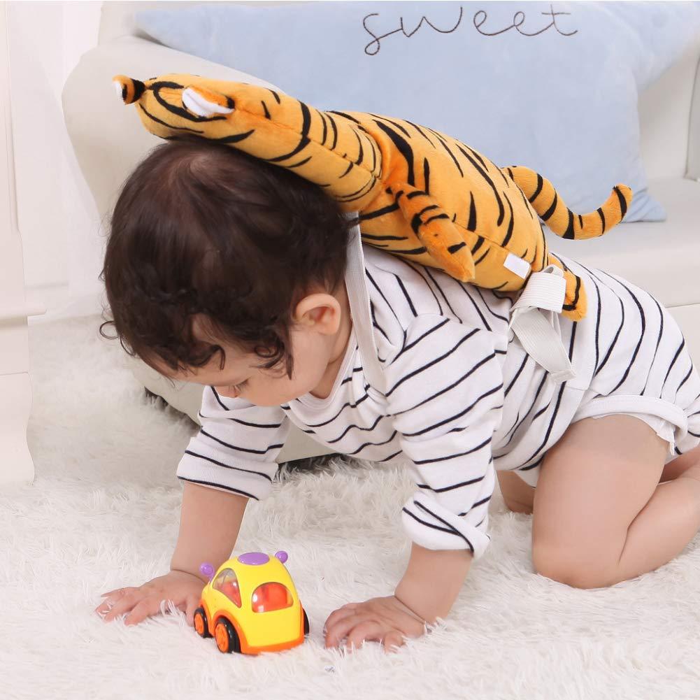sch/ützt vor Verletzungen von Kleinkindern Tropfenschutz 1 x Baby Kopf-R/ücken-Schutzkissen