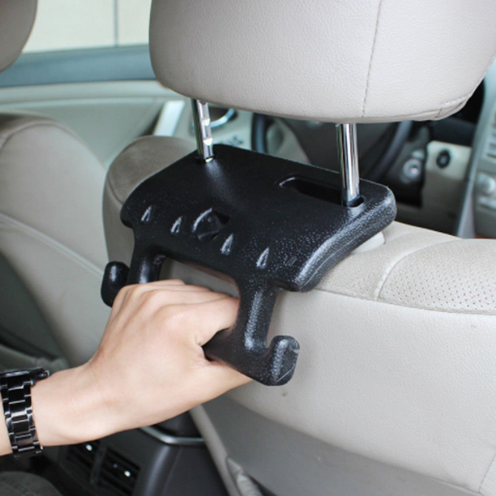 FidgetFidget Portable Car Seat Headrest Coat Hook Purse Bag Organizer Holder