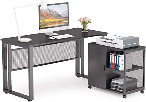 Tribesigns L-Shaped Computer Desk Review