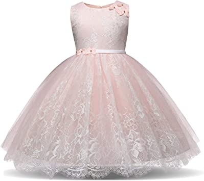 SamMoSon Fille Robe Mariage,Vêtements Fille