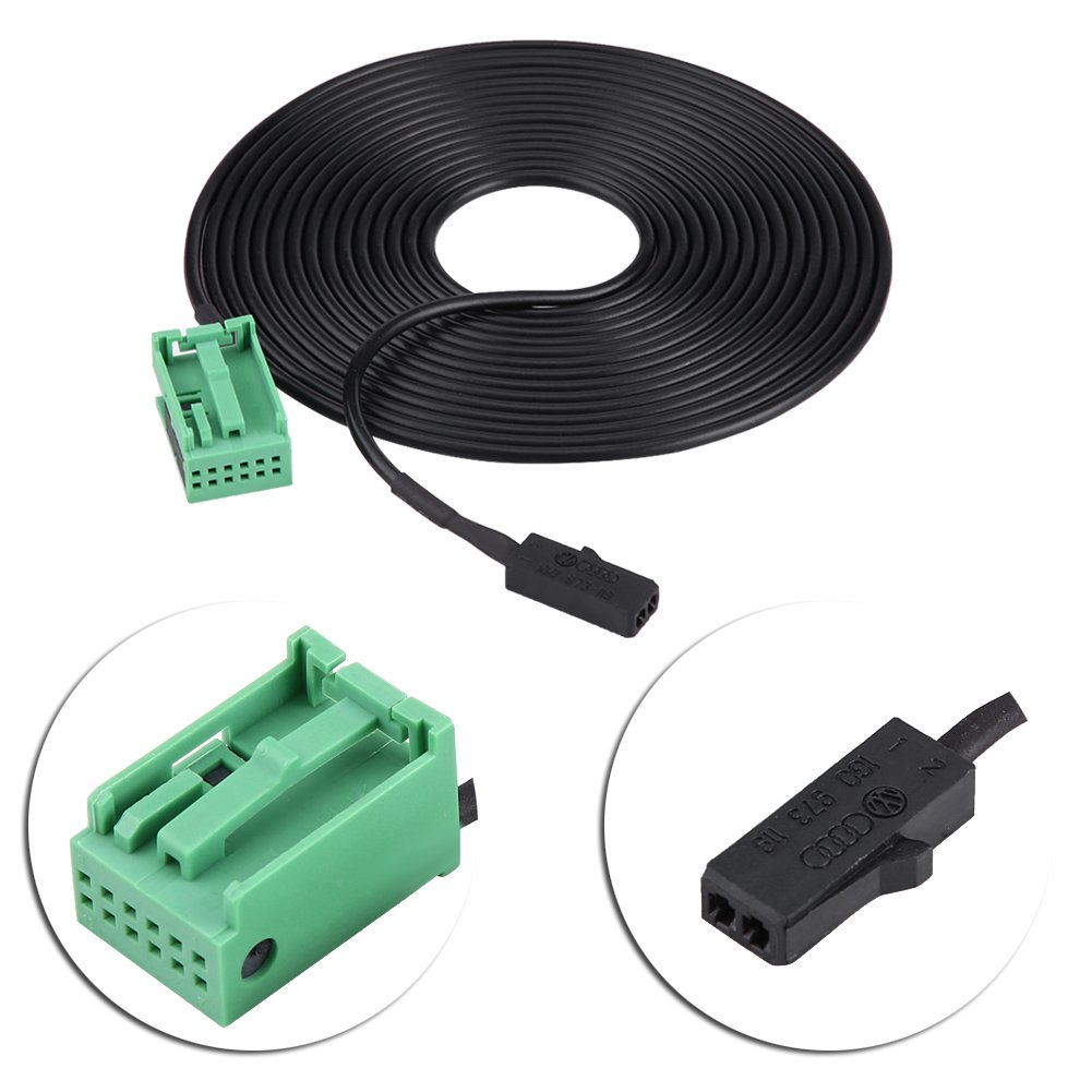 KIMISS Bluetooth Wing /& Microphone Harness Adapter Kit