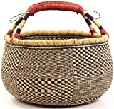 Fair Trade Ghana Bolga African Market Basket 14-16'' Across, #24862RL