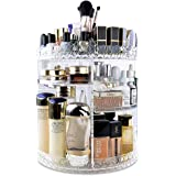 InnSweet 360 Rotating Makeup Organizer, Adjustable Cosmetic Storage Display Case with 8 Layers, Large Capacity Cosmetic…