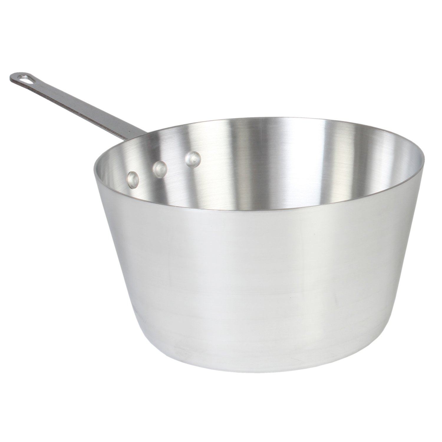 Thunder Group 5.5 Quart Aluminum Sauce Pans, Mirror Finish