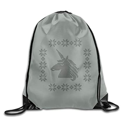 a34fd60a4be Amazon.com | Drawstring Bags Gym Bag Travel Backpack, Cute Unicorn ...