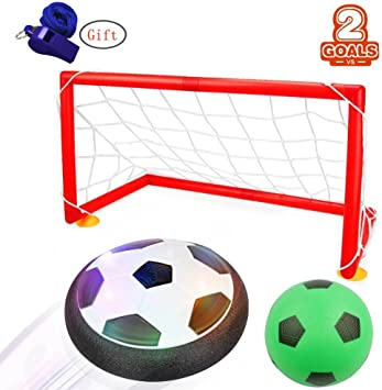 Air Power Soccer,WoBoSen Hover Glide Base LED Ball Toys Electrical ...