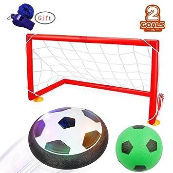 Air Power Soccer,WoBoSen Hover Glide Base LED Ball Toys Electrical ...