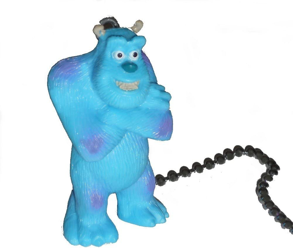 Disney Monsters Inc University Assorted Movie Characters Ceiling Fan Pull Light Chain Sully Amazon Com