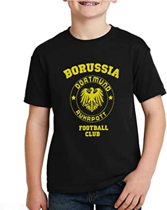 kharbashat Borussia Dortmund T-Shirt for Boys, Size 32 EU