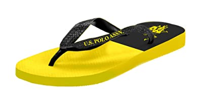 ad3962db785e U.S. Polo Assn. Men s Premium Sandals Marine Jarhead Flip Flops Water  Friendly Extra Cushioned Sporty