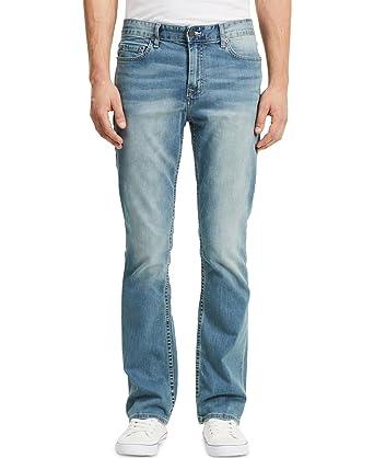 dbfc49578e8 Calvin Klein Men's 32 Inch Inseam Modern Boot Cut Jean, Silver Bullet,  29Wx32L