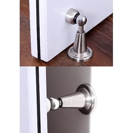 Homdox Magnetic Door Stops Stainless Steel Door Stopper
