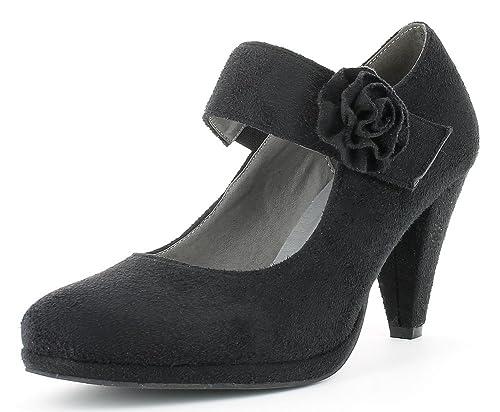 Andrea Conti - Pantuflas de caña Alta Mujer: Amazon.es: Zapatos y ...