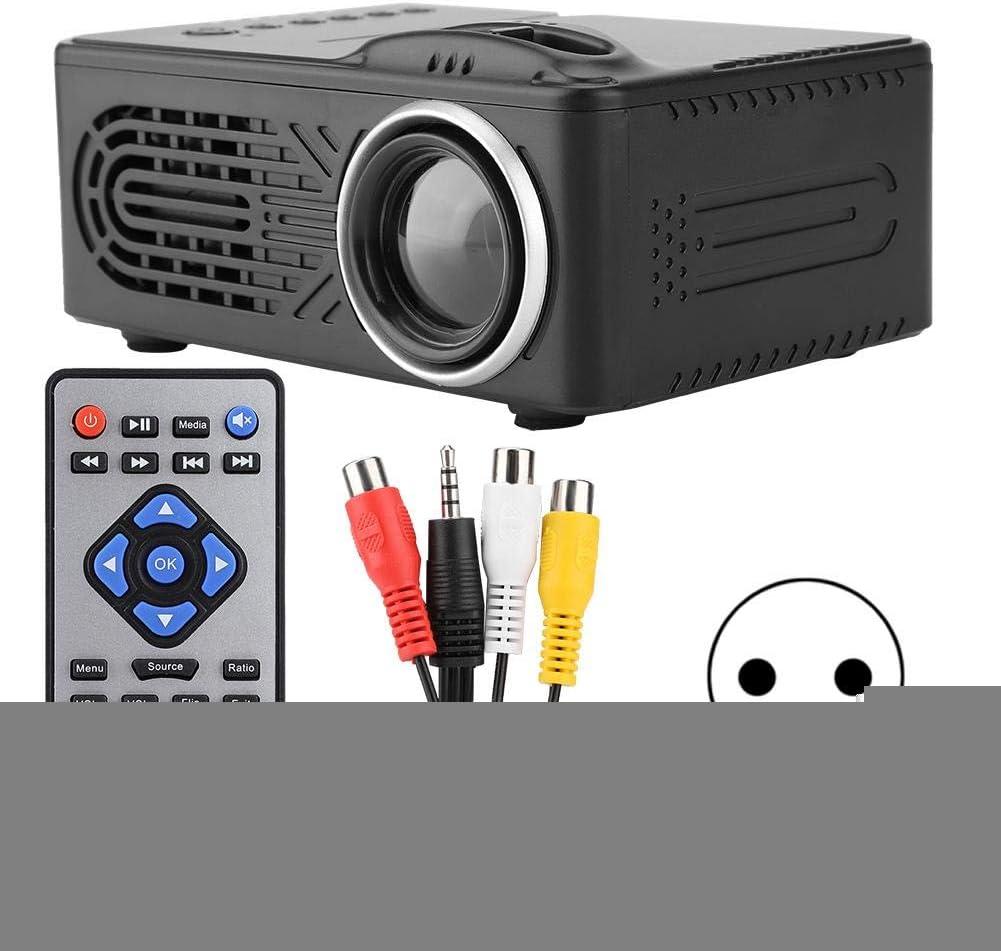 ASHATA Mini proyector, resolución óptica máxima,Compatible con la ...
