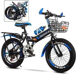 ROYWY Bicicleta MTB Plegable, 6 Velocidades Bici Infantil, 24 ...