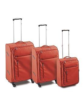 Roncato Ciak Juego de maletas, CHILLI RED (Rojo) - 42.51.89: Amazon.es: Equipaje