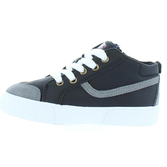Boy and Girl Shoes LEVIS 508500 ALBAN NOIR GRIS Size 29: Amazon.co.uk: Shoes  & Bags