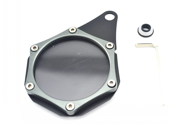 Orange Universal Motorbike accessory CNC Aluminum Alloy waterproof seal Tax Disc License Holder Fit For Suzuki HAYABUSA//GSXR1300 1999-2007