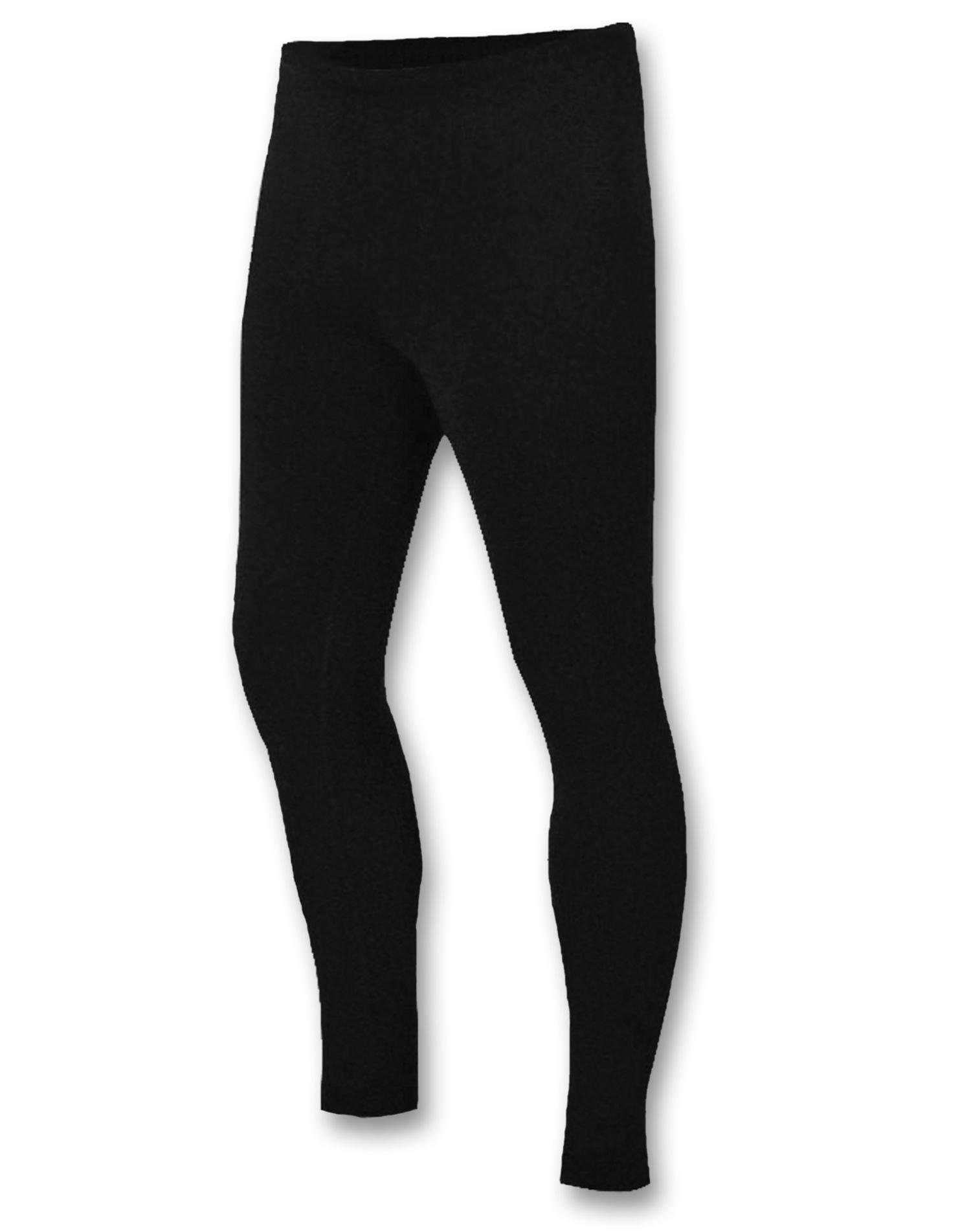 Duofold Men's Heavy Weight Double Layer Thermal Pant, Black, Large