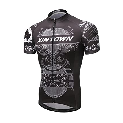 e57857060 Image Unavailable. Image not available for. Color  JINZFJG-SX Men s Cycling  Jersey Sets Short Sleeve Summer ...