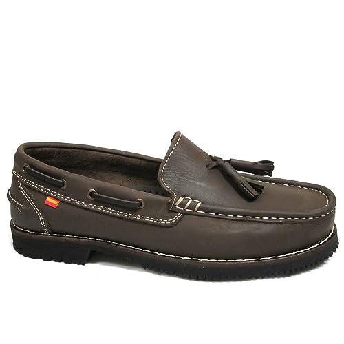 Zapatos Apache LA Valenciana Montijo Marrón: Amazon.es: Zapatos y complementos