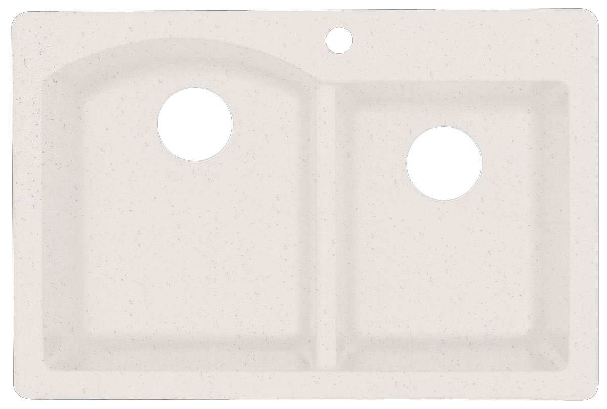 Swanstone qzdb-3322.075 84 cm von 22 als Küchenspüle, doppelt ...