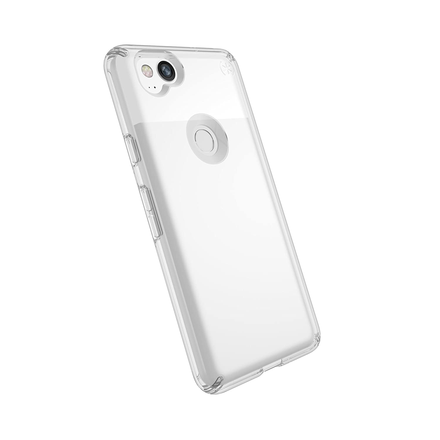 new style 60664 8870f Speck Products Presidio Clear Case for Google Pixel 2 Smartphone -  Clear/Clear