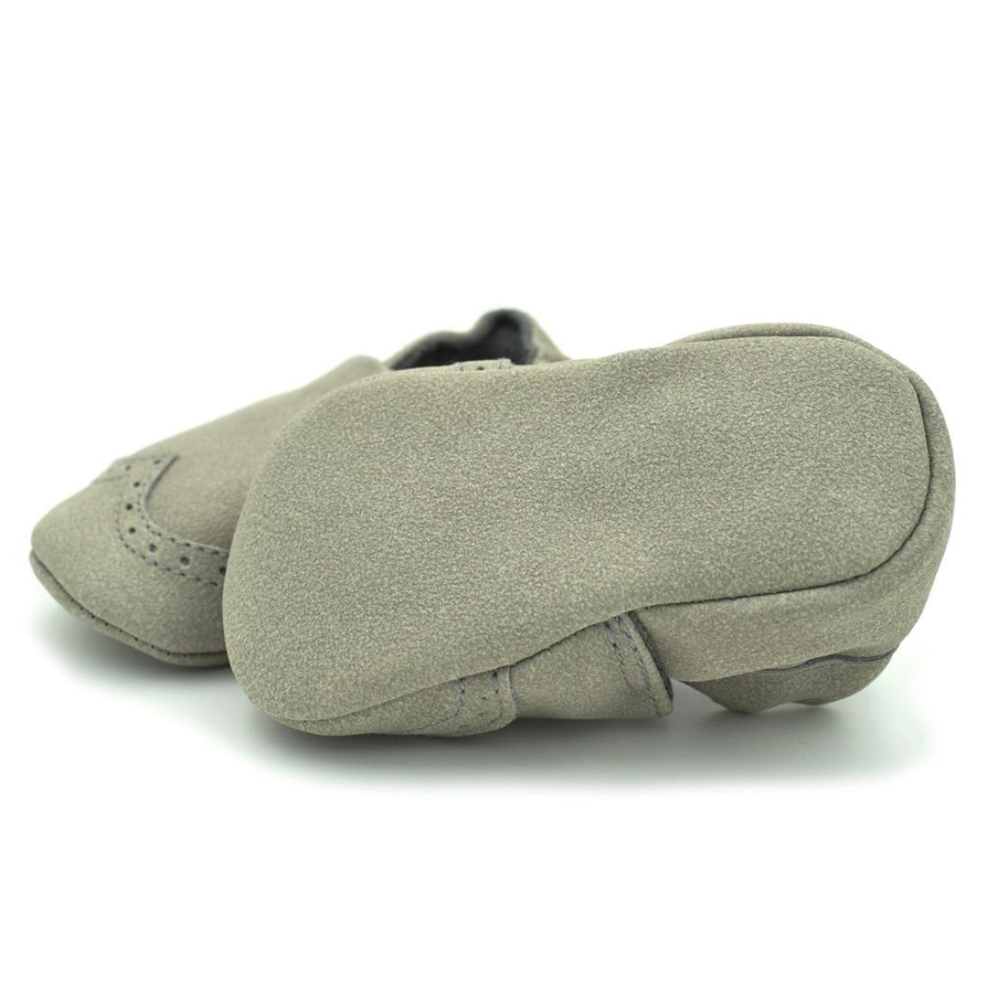 Lanhui Sunny Baby Boys Girls Newborn Shoes Soft Infants Soft Nubuck Shoes