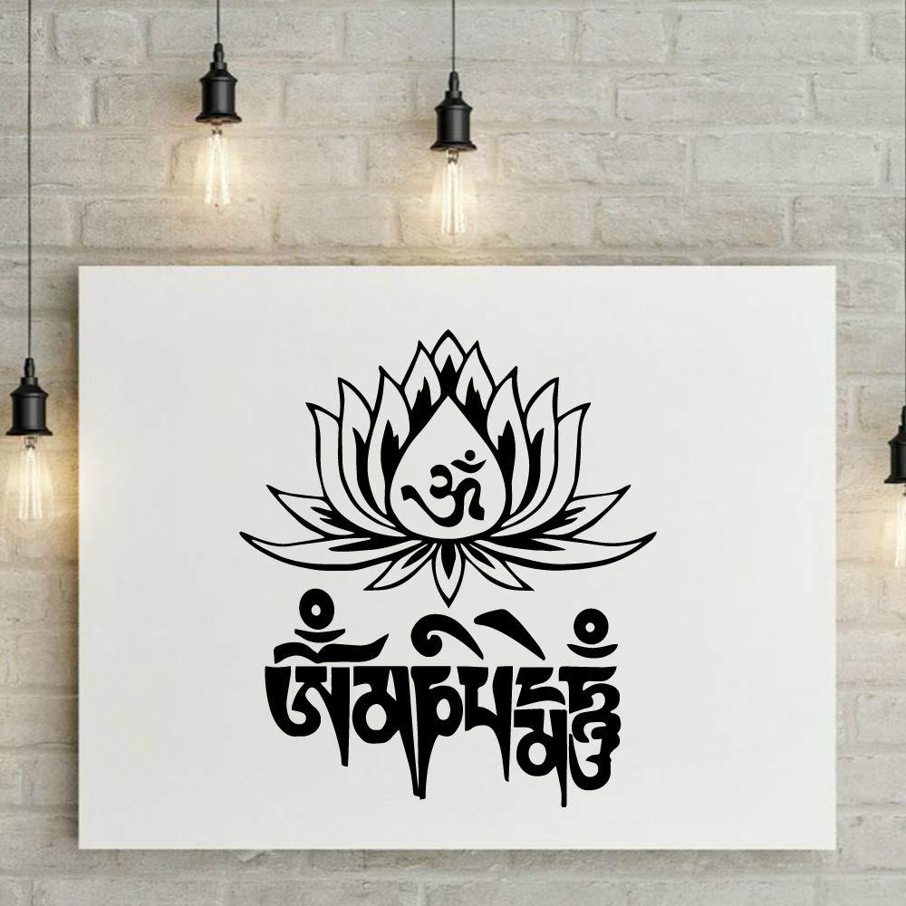 Familia Mandala Lotus Pvc Tatuajes de pared Decoración para ...