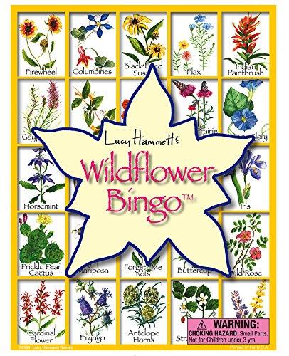 Lucy Hammett Games Wildflower Bingo Game ()