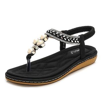 Confortables Sprinter Confort Damas Sandalias Zapatos Verano Bohemia TlFKc13J