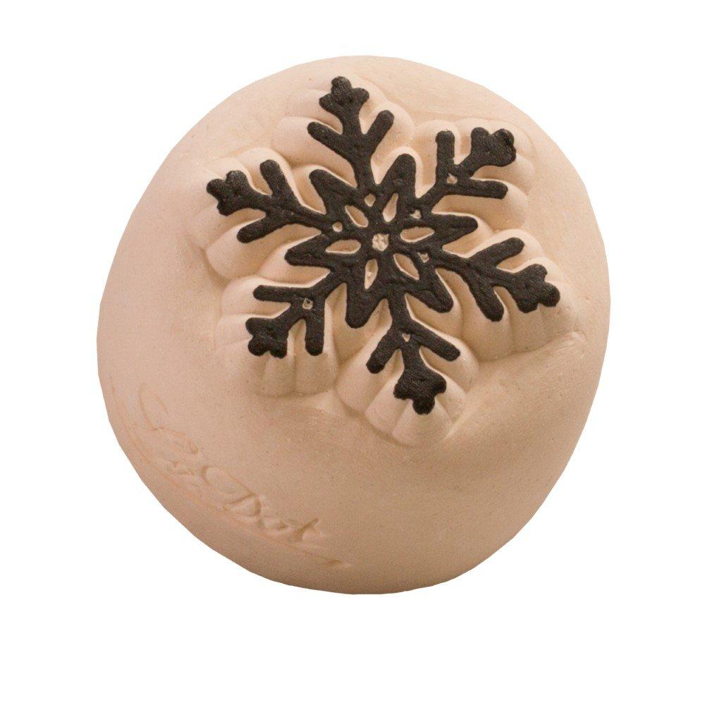 LaDot - Tatuaje temporal, piedra de estampado, copo de nieve ...