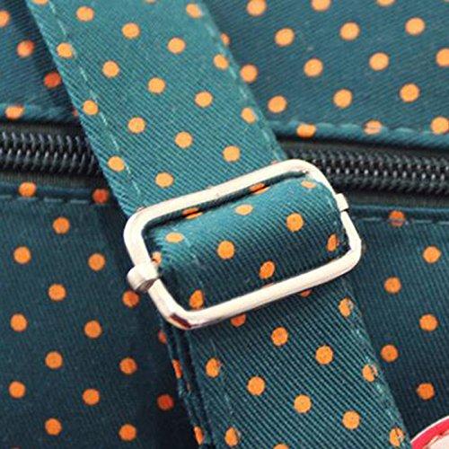 air à marron toile sac sac de mode bandoulière Wa tacheté main plein sport Da en motif à sac en de Produits créative messager OvRxnZY